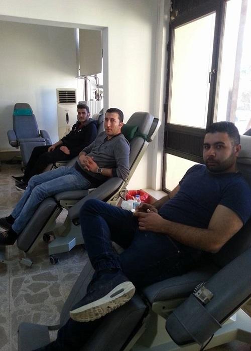 Alevi Kültür Merkezi; Thalassaemia Derneğine Kan Bağışı