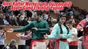 Dertli Divani 2013 Aşure Etkinliği Konuşması