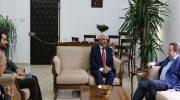 Maliye Bakanı Serdar Denktaş ile Bir Araya Geldik